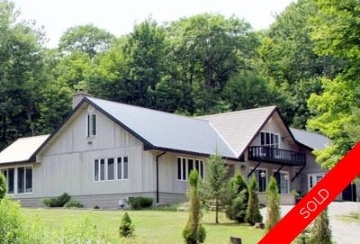 Algonquin Highlands House for sale:  4 bedroom