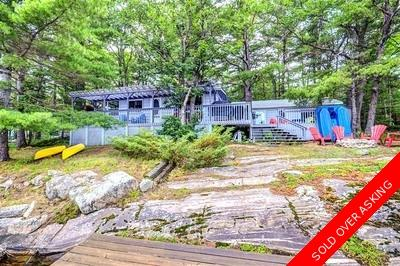 Gravenhurst  Cottage for sale:  3 bedroom  (Listed 2017-07-14)