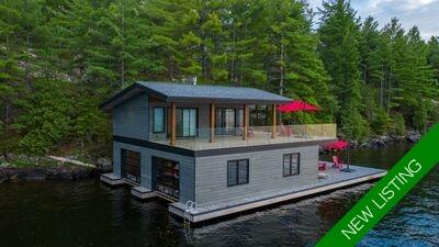Lake Muskoka  Cottage for sale:  3+2 1,570 sq.ft. (Listed 2020-08-14)