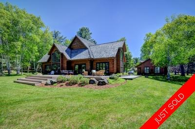 Lake of Bays  House for sale:  6 bedroom  Granite Countertop, Glass Shower, Hardwood Floors  (Listed 2019-05-12)