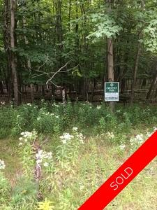 Lake of Bays  Vacant Land for sale: Vacant Lot Land  (Listed 2018-10-01)